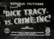 Dick Tracy vs. Crime, Inc. - 1941 - MPAA