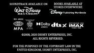 The Little Mermaid- Ariel's Beginning (2008, 2020) MPA credits