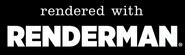 Rendered with renderman