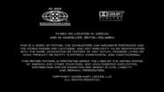 The Hurt Locker MPAA Card