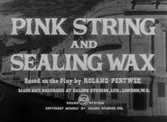 Pink String and Sealing Wax - 1950 - RCA