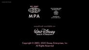 Piglet's Big Movie Re-Release - 2003, 2020 - MPA