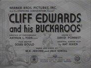 Cliff Edwards and His Buckaroos - 1941 - MPAA