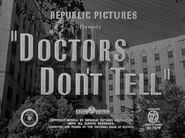 Doctors Don't Tell - 1941 - MPAA