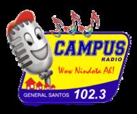 Campus Radio 102.3 Gensan Logo 2007.png
