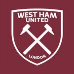 New West Ham United FC logo (claret and white v2)