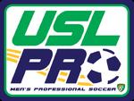 USL PRO logo (stacked)