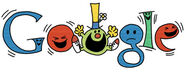 76th Birthday of Roger Hargreaves Mr Funny (09.05.11)