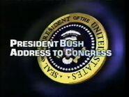 ABC News Special Report- President Bush Address to Congress (D)