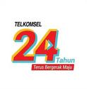 Telkomsel 24 Years White