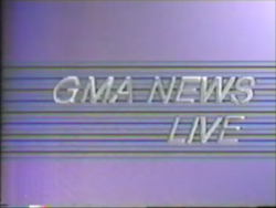 Sharing the same elements to the late-night newscast GMA Network News.