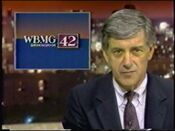 WBMG Birmingham 42 News @ 5pm with Steve Ross promo 1987