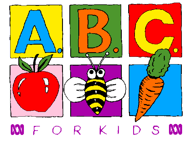 ABC For Kids 1st logo 10 January 1991-4 February 1998.png