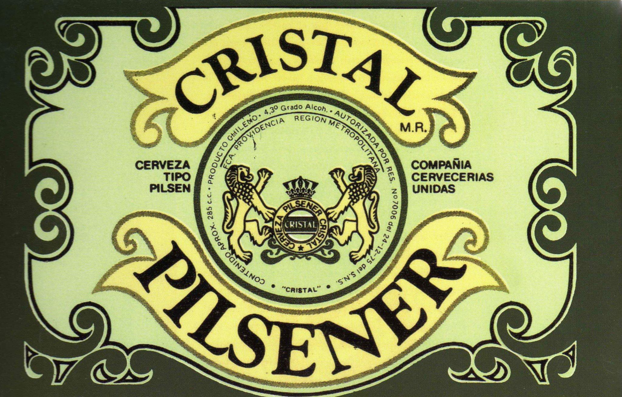 Cerveza Cristal (Chile)