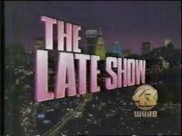 WUAB 1991 THE LATE SHOW