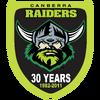 Canberra Raiders 30-year-anniversary-logo