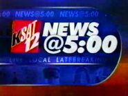 KSAT 12 News at 5 2002 Open