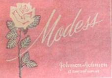Modess (feminine pads)