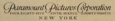 Paramount Pictures Corporation 1917 Wordmark