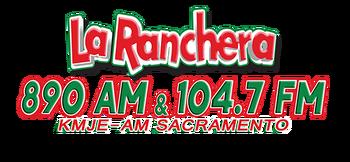 La Ranchera KMJE 890 AM 104.7 FM.png