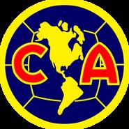 Escudo Club América 1994-1998 Azul