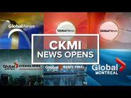 CKMI-DT-1 (MI-5, Global Montreal-Quebec) News Opens-2