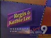 KWTV Regis Kathie Lee 1996 ID