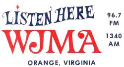 WJMA FM Oange 1974.png
