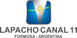 Lapacho Canal 11 (Logo Vertical - 2008).png