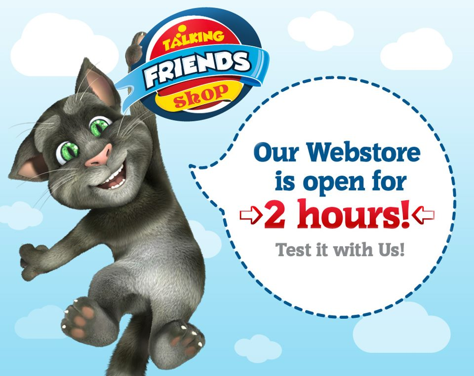 Talking Tom and Friends Shop
