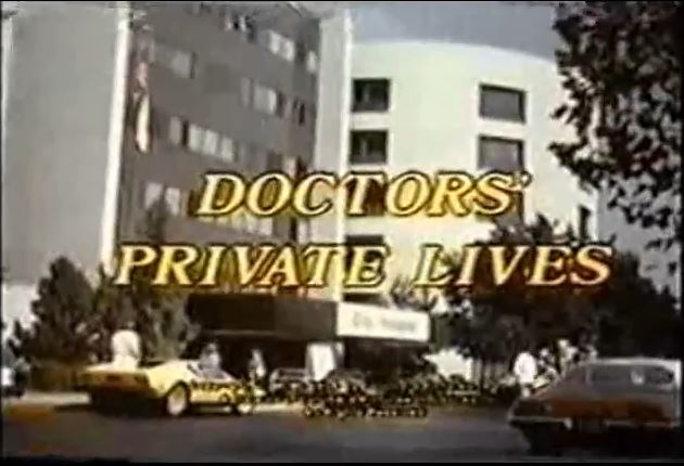 Doctor's Private Lives