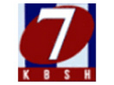 KBSH channel 7 logo, Hays-Salina-Great Bend, Kansas