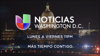 Wfdc noticias univision washington dc 11pm mas tiempo contigo promo 2019