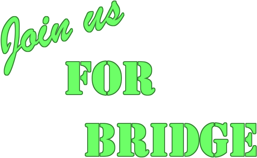 Join Us for Bridge
