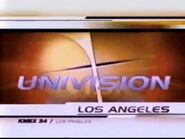 Kmex univision los angeles yellow opening 2001