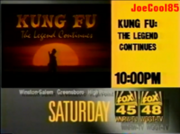 Kung Fu The Legend Continues FOX45&48 Promo