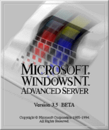 Windows NT 3.5 Advanced Server Beta
