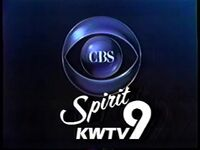 CBS Television You Can Feel KWTV 1988 89 ID