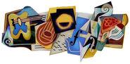 Google Juan Gris' 125th Birthday