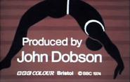 BBC Gymnast End Board 1974