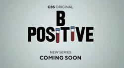 B Positive logo