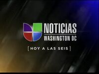 Wfdc noticias univision washington 6pm package 2011