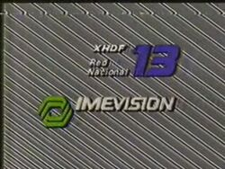 Imevision Canal 13 1988
