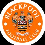 Blackpool FC logo (on tangerine disc)