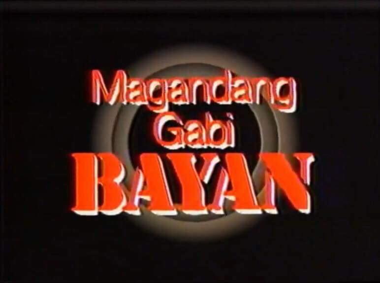 Magandang Gabi, Bayan