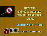 KAAL-TV Austin MN (public service announcement) 12-1984