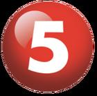 TV5 Number 5 Logo 2011