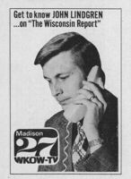 WKOW-TV Madison WI (Wisconsin Report print ad) 1975