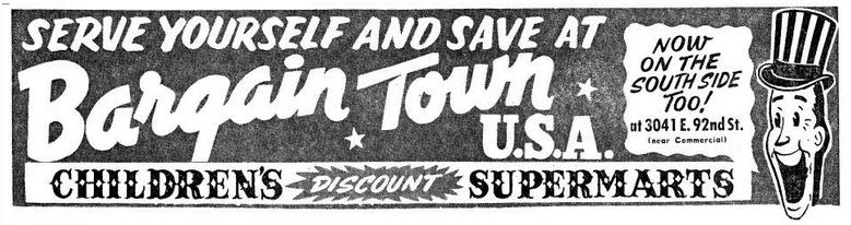 Children's Bargain Town USA