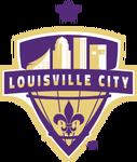 Louisville City FC logo (one purple star)